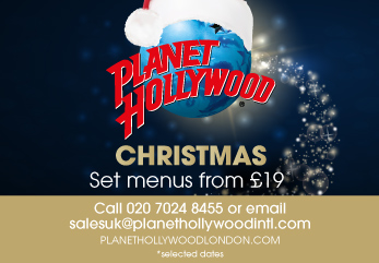Christmas at Planet Hollywood